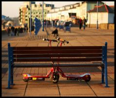 Porthcawl by fatdeeman