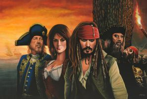 Pirates of the caribbean by PaulMeijering