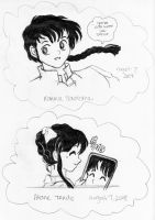 My First Ranma 1/2 Drawings by hollywood714