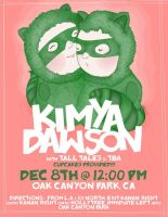 Kimya Dawson Gig Poster by yodas-with-sodas