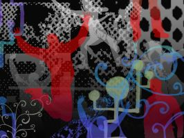 Abstract wallpaper 1 by UJz