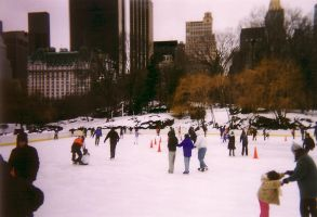 Central Park - Jan. 2004 by DJStrife