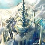 Crystal fortress 2 by HiroUsuda