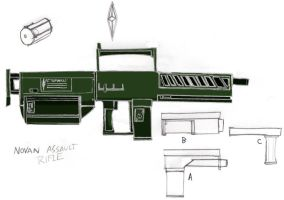 Imperial Assault Rifle by Imperator-Zor