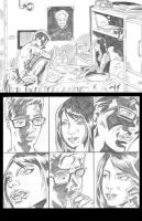 Spiderman page 01 by TheRafaLee