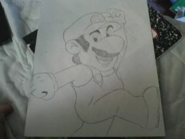 Mario Quick Sketch by axel91370