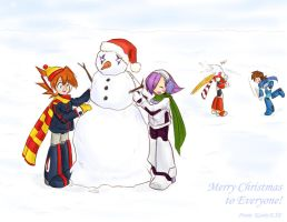 MMX - Merry Christmas by KarinEXE