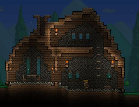 Wooden house by WoodenPickaxe