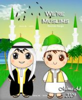 "Male OC""We are muslims"" by Noomy"
