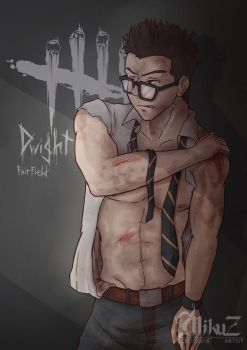 [Fanart] Dead by Daylight : Dwight Fairfield by Mikuz4043