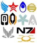 Mass Effect Symbols by Tensen01