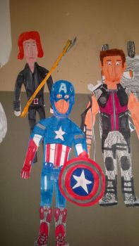 The Avengers by movieman410