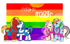 Pride is Magic~ by FlutterDashWhore