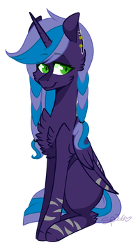 {AT} RainyStar by Speedpurple26
