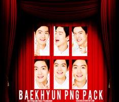 Baekhyun PNG Pack (Nature Republic) by kaixsoo