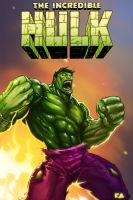 Digital HULK Final by KomicKarl