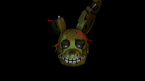 Springtrap WIP by GoldenNexus