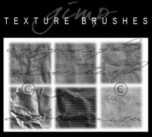 6 Texture Brushes by dcmbrnite
