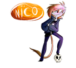 Nico mini-ref (animatedsorta) by BlubberBooty