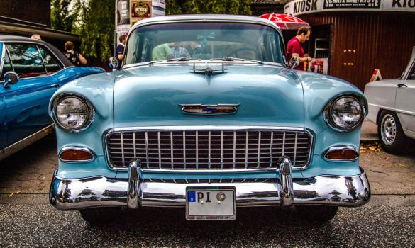 Chevrolet Bel Air V8 by teuphil