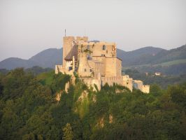 Old Castle Celje by dig-undeground