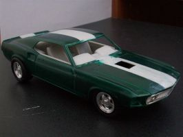 Mustang Mach 1 model by mikebontoft