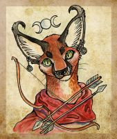 Caracal Wicca by Missopeho