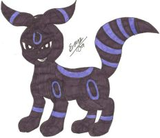 Umbreon :new look: by Marquis2007
