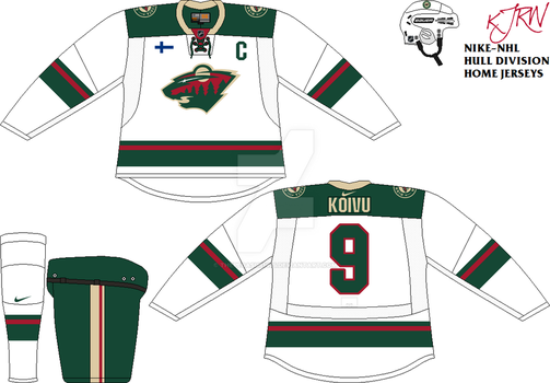 Minnesota Wild Home V1 by thepegasus1935