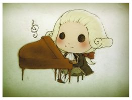 Mozart by azurecorsair