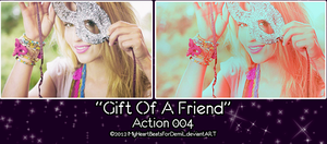 Gift of A Friend Action by MyHeartBeatsForDemiL