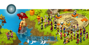 Dofus.. Montage the characters in guild Wonderfull by Cocotte-Vero91