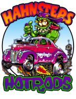 Hahnsters Hotrods by JosephWraith