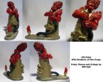 MTG Brothers of Fire - Minature custom OLD by SurfTiki