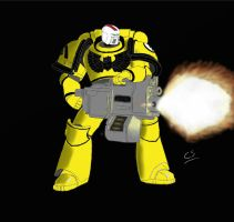 Imperial Fist Heavy by Cursive-Spill