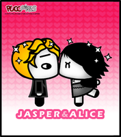 Jasper and Alice by crepusculito