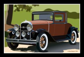 1931 Buick Illustrator Final by Daniel-Storm