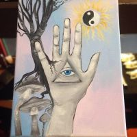 Psychedelic Hand by BeautifulMisery45150