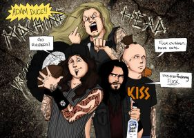 Machine Head........in my mind by zombiepencil