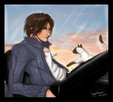 Squall-in-Jeans contest entry by AbyssDemon