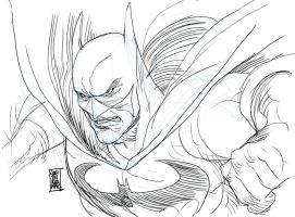 Batman New Year Sketch by hyperjack08