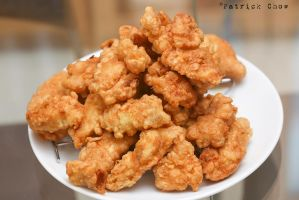 Fried fish by patchow