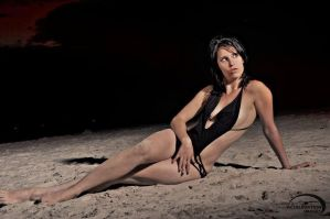 Swimsuit at Midnight by AccelerationImages