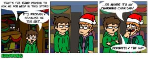 EWcomics No.37 - Xmas shopping by eddsworld