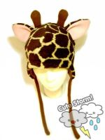 Giraffe Hat by The-Cute-Storm