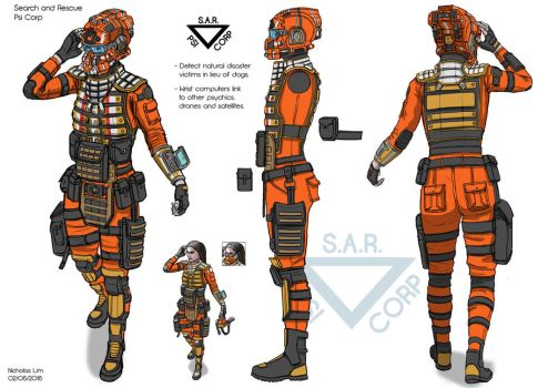 Psi Corp S.A.R. 01 by Magnum117