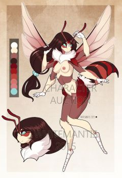 Cherry Bee Character Auction [CLOSED!] by White-Mantis