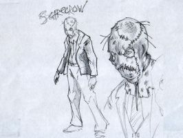 Scarecrow sketch by SaintYak