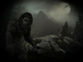 Bigfoot.. by Alz-Stock-and-Art