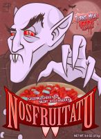 Monster Cereal: Nosfruitatu by ZacPensol